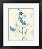 Framed Booked Blue II
