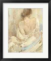 Framed Abstract Figure Study I