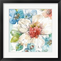 Summer Bloom III Framed Print