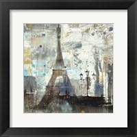 Framed Eiffel Tower Neutral