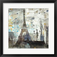 Framed Eiffel Tower Neutral