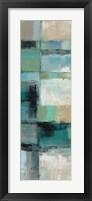 Island Hues Panel I Framed Print