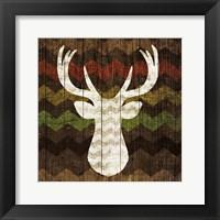 Framed Southwest Lodge - Deer II