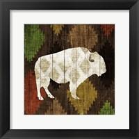 Framed Southwest Lodge - Buffalo