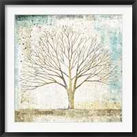 Framed Solitary Tree Collage
