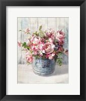 Framed Garden Blooms I