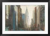 Framed Urban Movement I NY