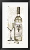 Pencil Wine II Framed Print