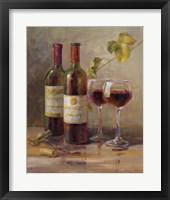 Opening the Wine I Framed Print