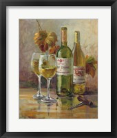 Opening the Wine II Framed Print