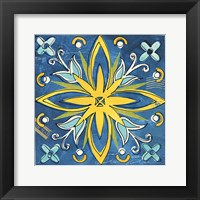 Framed Tuscan Sun Tile I Color