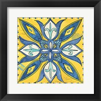 Framed Tuscan Sun Tile II Color