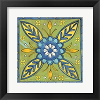 Framed Tuscan Sun Tile III Color