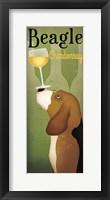 Framed Beagle Winery Chardonnay