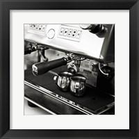 Coffeehouse I Crop Framed Print