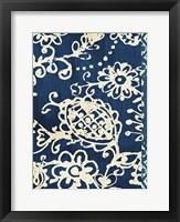 Framed Bali Tapestry II