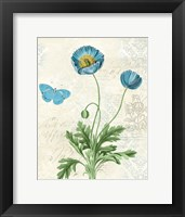 Booked Blue IV Crop Framed Print