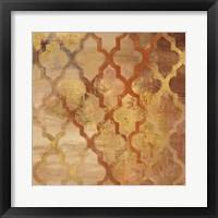 Framed Gilded Rocking Moroccan