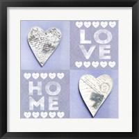 Framed Home Love