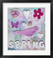Framed Spring Collage