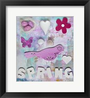 Framed Spring Collage