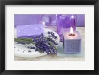 Framed Lavender II