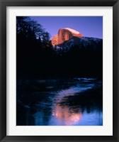 Framed Half Dome, Merced River, Yosemite, California