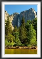 Framed Merced River, Yosemite NP, California