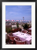 Framed Riviera Cafe, Cannes, France