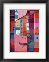 Framed Canals of Venice II