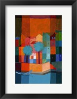 By the Canal I Framed Print