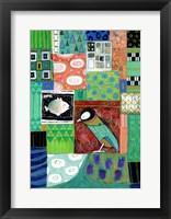 Framed Paradise Woodpecker