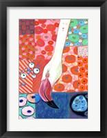 Framed Paradise Flamingo