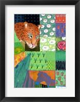 Framed Paradise Leopard