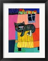 Framed Sofa Cat