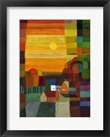 Autumn Country I Framed Print