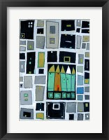 Abstract Landscape II Framed Print
