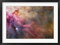 Framed Abstract Art Found in the Orion Nebula