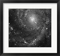 Framed Hubble Space Telescope Imaging of Hot Gas and Star Birth in M101
