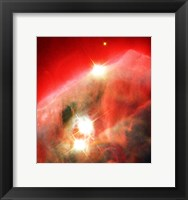Framed Edifice of Gas and Dust in the Cone Nebula