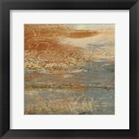 Siena Abstract III Framed Print