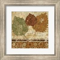 Framed Golden Autumn II