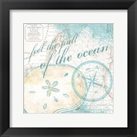 Look to the Sea III Framed Print