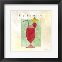Tropical Cocktails I Framed Print
