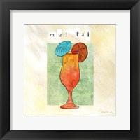 Tropical Cocktails IV Framed Print
