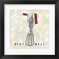 Framed Kitchen Utensils V