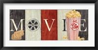 Framed Movie Cinema Signs I