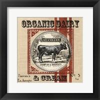 Organic Farm III Framed Print