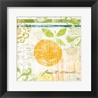 Fruit Crush III Framed Print