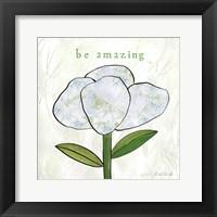 Paper Flower IV Framed Print